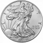 American Eagle 1 OZ Striebro 2021