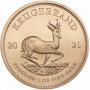 Krugerrand 1 OZ Gold, Au 99,99%, Južná Afrika, 2021